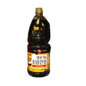 샘표 조림간장 1.8L(표고버섯 함유)