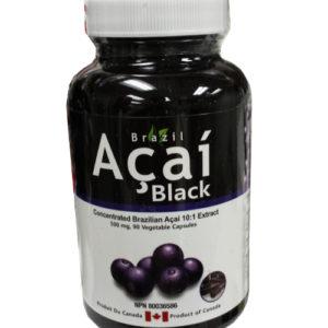 Brazil Acai Black 10:1 extract 90 capsules