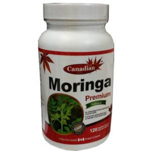 Canadian Moringa premium 120 capsules