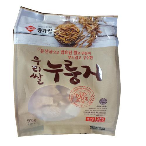 종가집 우리쌀 누룽지 500g