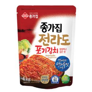 종가집 전라도 포기 김치 1kg