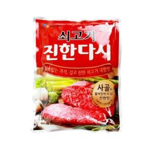 백설 쇠고기 진한 다시 1kg