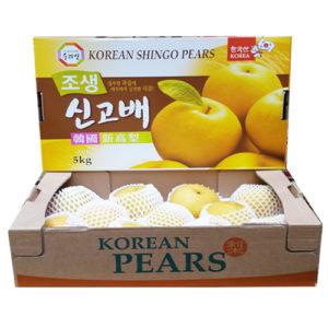 한국산 신고배 5kg(7-8과)