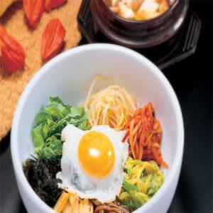 한국식품 비빔밥 1인분
