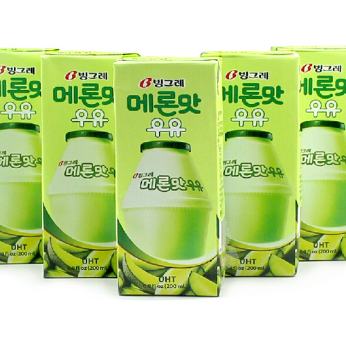 빙그레 메론맛 우유(24)