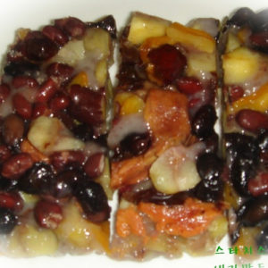 영양떡(검정콩,밤,대추잣,견과류) 3.5kg-24시간전 주문요망-[민들레떡집]