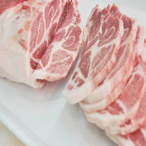 바베큐 돼지 목살 1kg-바베큐,돈까스용