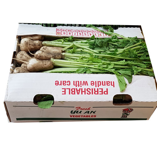 유안농장 총각무 Box (라면박스 크기)