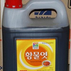 청정원 황 물엿 5kg