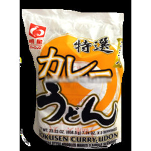 myojo tokusen curry udong 658.5g 3 serve