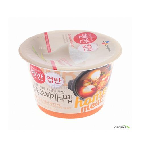 햇반 컵반 순두부 찌개국밥 173.7g