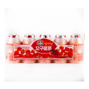 아씨 딸기맛 요구르트 5개