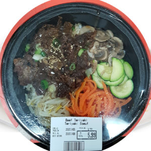한국식품 Chicken Teriyaki 1인분