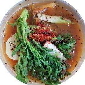 한국식품 감자탕 2인분