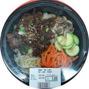 한국식품 Beef Teriyaki 1인분