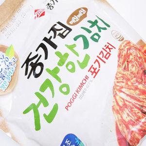 종가집 건강한 포기김치 1kg-익은것[50% 나트륨을 낮춘]