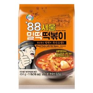 수라상 88 서울 밀떡 떡볶이 2인분 454g