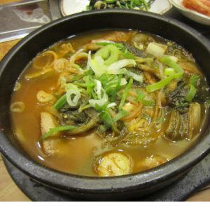 한국식품 우거지 갈비탕 1인분
