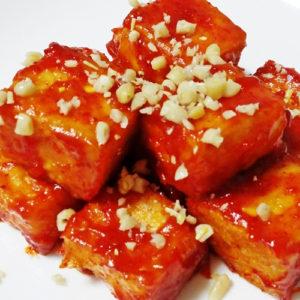 한국식품 매운 두부강정
