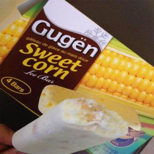 구젠 아이스크림-옥수수 4개들이