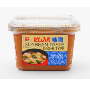 Hanamaruki Soybean paste Dashitype cup 500g-GMO free