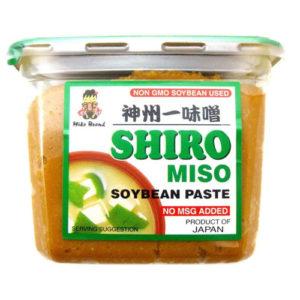 MIKO BRAND SHIRO MISO 500g-Cup type [녹색글씨]