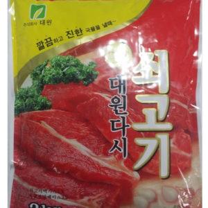 박스판매-대원 소고기 다시다 1kg [10팩]