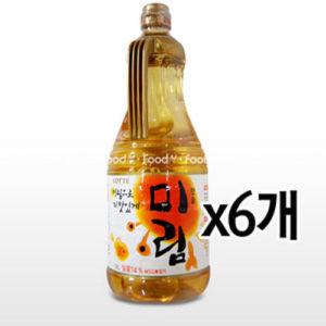 롯데 미림 1.8L [6개] 1박스