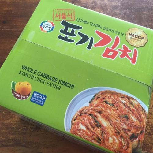 서울식 수라상 익은 포기김치 5kg