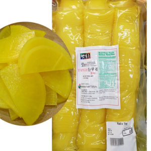 반달형 자른 햇살촌 노란 단무지 1kg