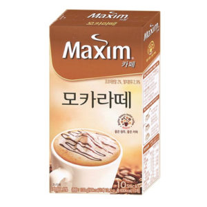 맥심 모카라떼 커피믹스 10개