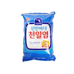 샘표 신안바다 천일염 소금 1.5kg