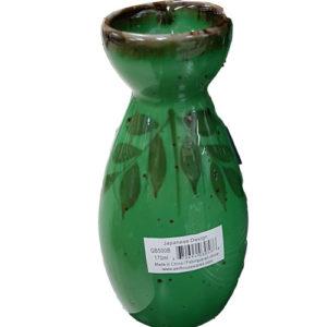 Green Bamboo Sake Bottle