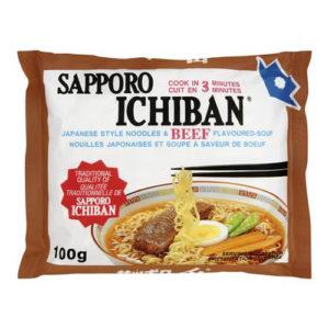 Saporo ichiban beef 24-박스