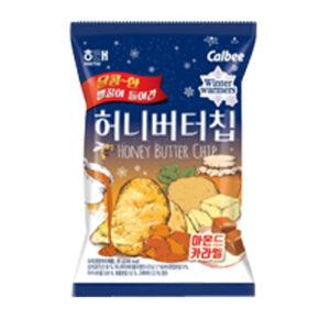 해태 허니 버터 칩-아몬드카라멜