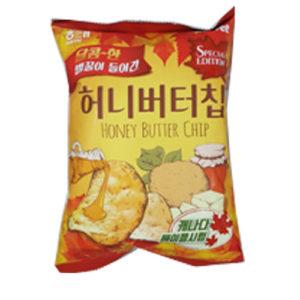 해태 허니 버터 칩-체리 블라섬