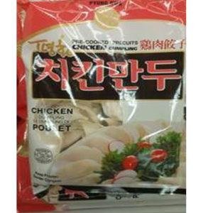 평화식품 치킨만두 1박스 [650g x 12팩]