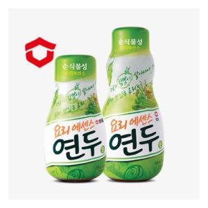 요리본연의 맛을 살려주는 [녹색] 연두 320g