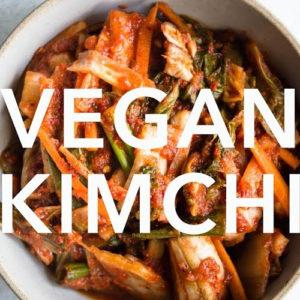 한국식품 소금 맛김치 1kg [Vegan]