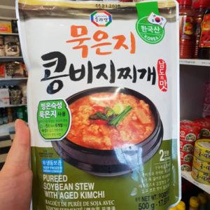 냉동 수라상 묵은지 콩비지 찌개 500g