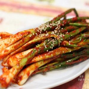 한국식품 파 김치 1kg