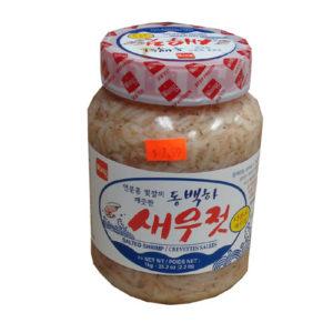 왕 동백하 새우젓 1kg