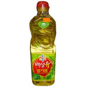 백설 콩기름 900ml