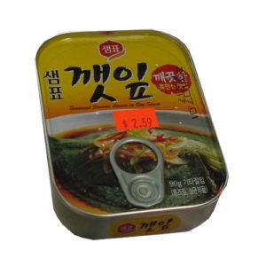 동원 깻잎 캔 70g-Mild