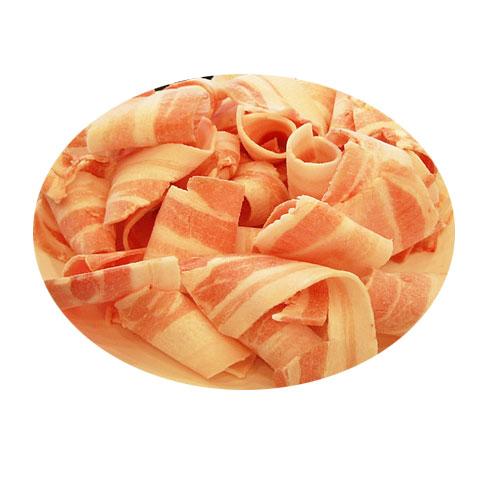 두껍게(6mm) 썰은 삼겹살 1kg (구이용)-중량별판매