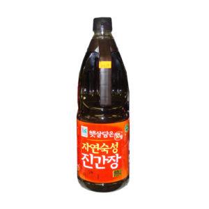 청정원 자연숙성 발효진간장 840ml