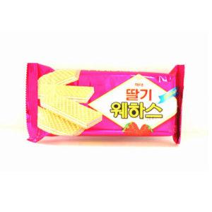웨하스-딸기맛 56g