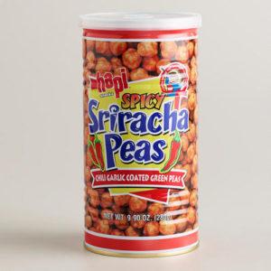 Hapi spicy Sriracha Peas 280g 5.99+tx
