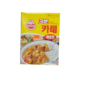스페셜-오뚜기 3분 카레-매운맛 190g
