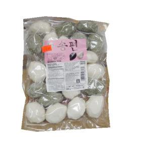 한국산 수라상 모듬 송편 500g -흰.쑥
